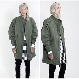 Discount Long Olive Green Jacket Men | 2017 Long Olive Green ...