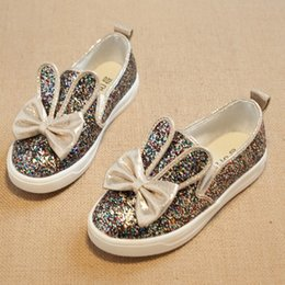 Wholesale 2015 Childrens Best Sale Elegant Fashion Sequined Casual Dress Baby Girls Korean Style Pretty Bow Princess Shoes Kids Summer Shoes