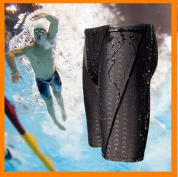 Wholesale HOT New arrivel man Swimwear Men s Sharkskin Water Repellent Swimming swimsuit Swim Trunks Sport Shorts Classic Men Swimwear
