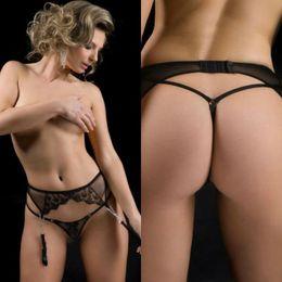 Wholesale Suspender Belt Gaters G string Women G String Thongs T Pants Fashion Intimates Briefs