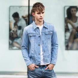 Denim Jean Jacket For Men Ye Jean