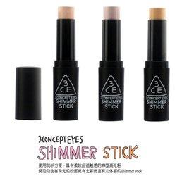 Wholesale Shimmer Stick Face Slimm Brand E Stylenanda Makeup Shimmer Stick Face Neck Makeup Highlighter