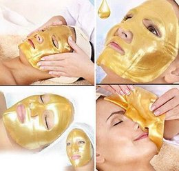 Wholesale Gold Crystal Collagen mask Gold Bio Collagen Facial Mask Face Masks moisture replenishment whitening mask peels Anti Aging skin care make up