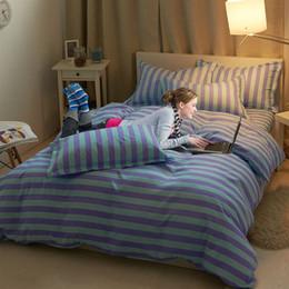 95% Cotton + 5% Lycra 4pcs 3pcs bedding-set denim quilt bedding set  bedclothes bed sheet sets pillow duvet cover