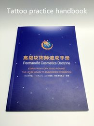 Wholesale Advanced exercise book makeup practice booklet for eyebrow lips makeup cosmetic practice booklet