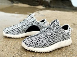 Wholesale NewadidasOriginals Kanye Milan West Yeezy Boost novel Gray Black Men s Fashion Sneaker Shoes no Box Sports Shoes