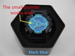 Relogio de alta qualidade G * 110 relógios de esportes dos homens da caixa, homens de marca de luxo relógio de pulso de disparo do cronógrafo do diodo emissor de luz, relógio militar, relógio digital