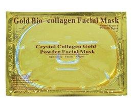 Wholesale Gold Bio collagen facial mask Facial Mask Face Mask Crystal Gold Powder Collagen Facial Mask Moisturizing Whitening Anti aging