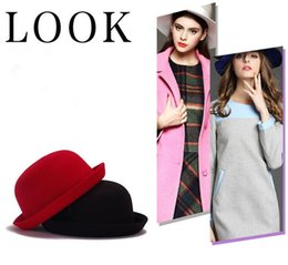 online shopping Fashionable Britpop Felt Turnup caps Prettybaby Pure Color christmas gift short Billycock Color for you