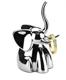 Wholesale Wedding Favors Elephant design ring Necklace Jewellery Display Stand jewelry holder