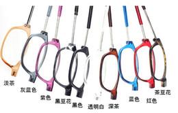 Wholesale Adjustable Front Connect Readers unisex magnetic reading glasses fashion men women s brand design reading eyeglasses