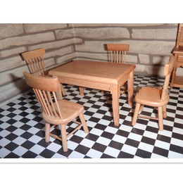 discount dollhouse miniature chair new 112 miniature furniture table desk chairs set dollhouse affordable dollhouse furniture
