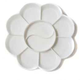 Wholesale 2pcs High Quality Plastic pallet Paint palette Art tools Craft Painting Supplies HS21039