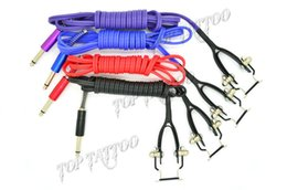 Wholesale 4 Colors Snake King III Tattoo Clip Cord For Tattoo Power Supply Tattoo Kits