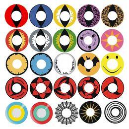 Wholesale Cosplay contact lenses Halloween contact lens crazy lens Crazy contact lens mixed items