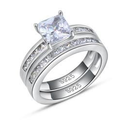 Luxo Praça da Áustria anel de cristal, prata esterlina 925 com platinadas, Moda Jóias de Prata Anéis Atacado OR28