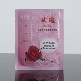 Wholesale Facial mask Rose silk mask after sun Pure natural products Kuishui rose Gansu characteristic products Skin care products Christmas gift