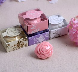 Wholesale 500 pieces send his girlfriend to send a wedding gift soap roses soap flower girls creative gifts Wedding Favor