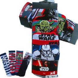 1000 paires Star Wars Chaussettes Enfants Chaussettes Coton Funny Cartoon Chaussettes Courtes Noël Chaussettes rayées Chaussettes droites Chaussettes Darth Vader