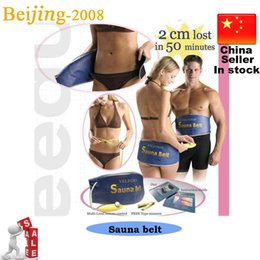 Wholesale 2014 new Heating Slimming belt health care Massage belt body Massager massage Sauna belt for weight loss v