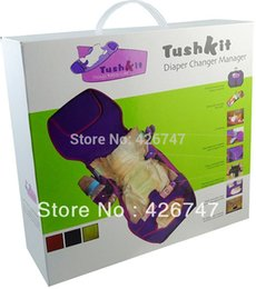Wholesale Tushkit portable comfort station multifunctional diaper bag baby changing mat soft and breathable