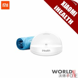 Wholesale New Xiaomi iHealth Smart Blood Pressure Monitor Digital iCloud For MI4 MI3 Hongmi S Hongmi Note Hongmi Note G Phones