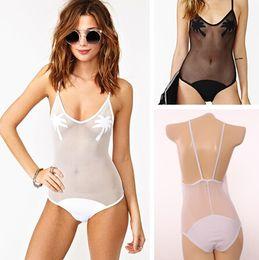 Wholesale 2015 New ms sexy gauze conjoined bikini coconut trees a swimsuit