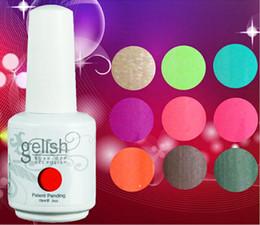 Wholesale 15ml Nexu Gelish Soak Off UV Nail Gel Polish Total Fashion Colors Brand New hot DHL Free