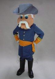 Wholesale New Rebel Civil War Costume Mascot