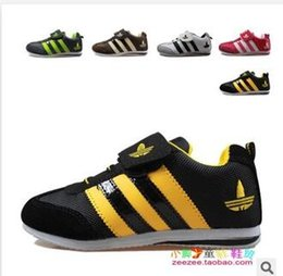 Wholesale Children shoes Hot Spring Korean fashion canvas shoes boys and girls sports shoes size kids shoes