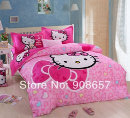 Kitty King hello size bed covers