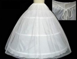 Wholesale Fast Shipping Cheapest Bridal Petticoat Ball Gown Wedding Dresses Underskirt Crinoline Petticoat Wedding Accessories Hot Sale