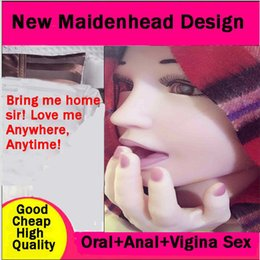 Wholesale Sexy Adult Supplies Half InflatableHalf EntitySexy Adult Supplies Half InflatableHalf Entity Doll Silica Gel Chest Anal Vagina Oral Sex
