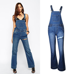 Discount Overall Jeans Womens | 2017 Womens Denim Overall Jeans on ...