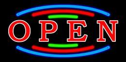 2016 Señal llevada abierta de la letra de la tienda de destello animada de la venta nueva para el tamaño plástico abierto los 48cm * 25cm de la exhibición del marco del PVC de la tienda