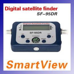 SF-95DR Buscador de Satélite Buscador de Sat Busqueda Medidor LCD DIRECTV Dish FTA Visualización Digital Para TV Singnal Finder Meter 95DR