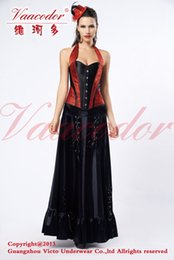 Wholesale Weike corset halter dress more professional production of customized