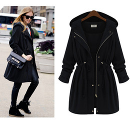 Black Winter Coat With Hood