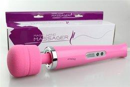 Wholesale 2015 Wand Massager Sex Toys For Women Climax Speed Magic Wand Massager Motor Body Massager AV Vibrator Clit Stimulation Sex Products