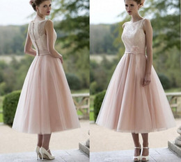 Discount Pink Retro Bridesmaid Dresses | 2017 Pink Retro ...