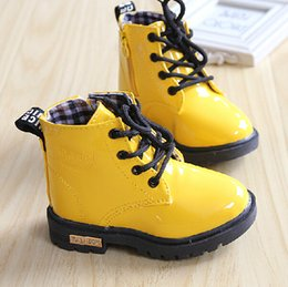 Wholesale Factory Outlet The new autumn and winter popular boys and girls Martin boots Korean fashion waterproof shoes for men and women the baby