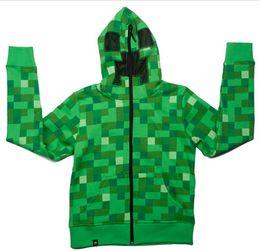 Wholesale 2014 Hot Sale autumn winter camouflage minecraft coats minecraft hoodies minecraft clothes minecraft supplies Adult coat LJJD527