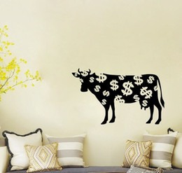 Cow Wall Decals Vinyl Stickers Home Decor Living Room Wall Pictures Nursery Wall Decal Children Wall Stickers Murals
