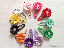 Wholesale Hot Infant Hair Clip Sun Flower Barrettes Beautiful Baby Girl Hair Ornaments Hair Pin Cute Hair Acc CF345
