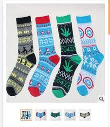 Wholesale 10Pairs Men Cotton Hero Knitted Long Socks Men Football Socks Men Socking Men Hosiery Women Sport Stockings Men Long Socks