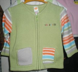Wholesale Baby boy cardigan sweaters jumper sweater jumpers tops