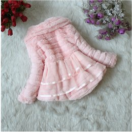 Wholesale New Arrival Korean Girls Thick Cotton Jacket Girls Coral Fleece Jacket Coat Delicate Fabrics