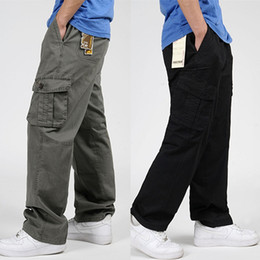 Discount Big Mens Black Cargo Pants | 2017 Big Mens Black Cargo ...