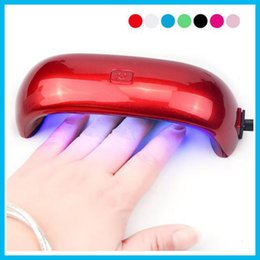Wholesale 2016 Mini Rainbow Nail Art Lamp W LED Light Bridge Shaped Mini Curing Nail Dryer Nail Art Lamp Care Machine for UV Gel USB Cable