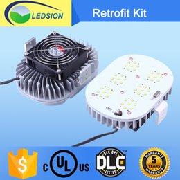 5 ans de garantie UL DLC répertorié conduit éclairage extérieur 120W 150W Led kit de rénovation 5000K Avec MeanWell Pour le marché USA / Canada
